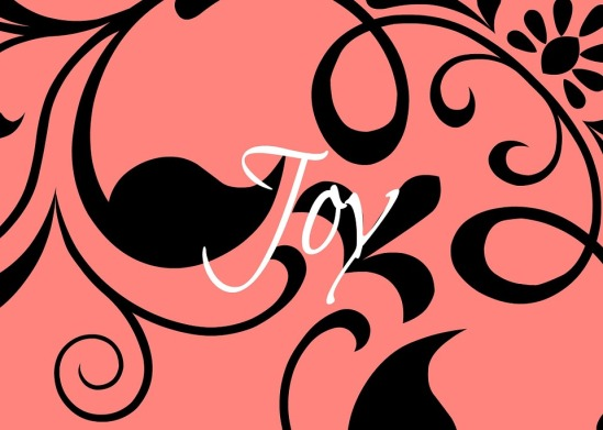 joy black and pink