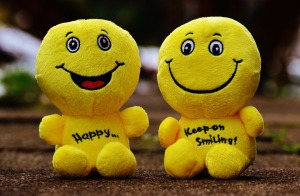 smiley stuffed animals
