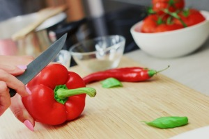 bell-pepper chopping