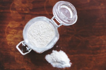 Flour in jar