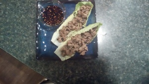Asian lettuce wraps II
