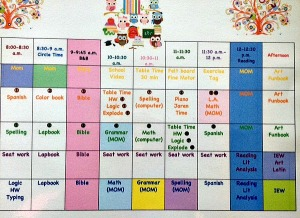 Joyfull School Schedule